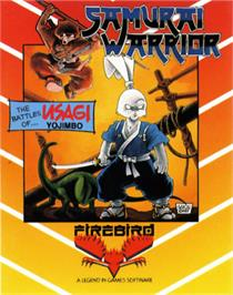 Box cover for Samurai Warrior: The Battles of Usagi Yojimbo on the Commodore 64.