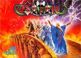 Box cover for Satan on the Commodore 64.