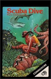 Box cover for Scuba Dive on the Commodore 64.