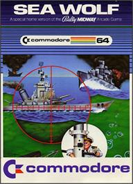 Box cover for Sea Wolf on the Commodore 64.