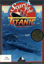 Box cover for Search for the Titanic on the Commodore 64.