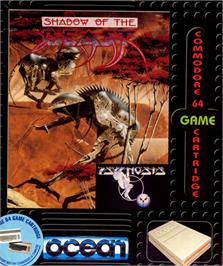 Box cover for Shadow of the Beast on the Commodore 64.