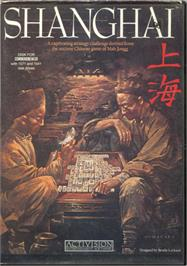 Box cover for Shanghai on the Commodore 64.