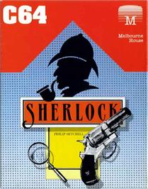 Box cover for Sherlock: The Riddle of the Crown Jewels on the Commodore 64.