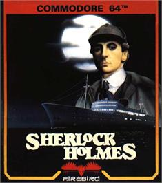 Box cover for Sherlock Holmes: Another Bow on the Commodore 64.