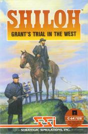 Box cover for Shiloh: Grant's Trial in the West on the Commodore 64.
