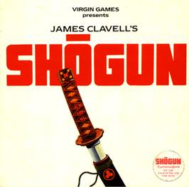 Box cover for Shogun on the Commodore 64.