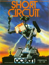 Box cover for Short Circuit on the Commodore 64.