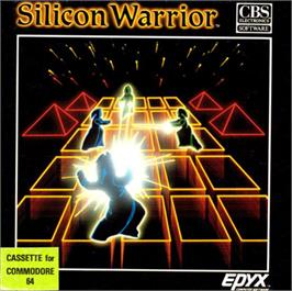 Box cover for Silicon Warrior on the Commodore 64.