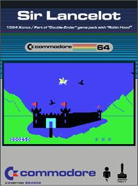 Box cover for Sir Lancelot on the Commodore 64.