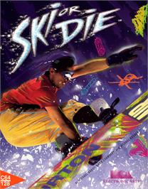 Box cover for Ski or Die on the Commodore 64.