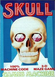 Box cover for Skull on the Commodore 64.