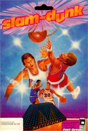 Box cover for Slam-Dunk on the Commodore 64.