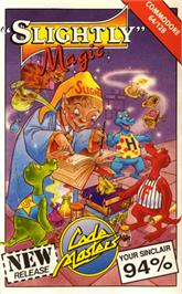 Box cover for Slightly Magic on the Commodore 64.