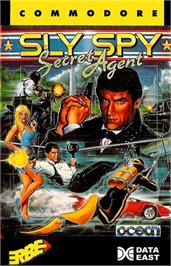 Box cover for Sly Spy: Secret Agent on the Commodore 64.