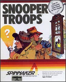 Box cover for Snooper Troops: Case #2 - The Case of the Disappearing Dolphin on the Commodore 64.