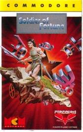 Box cover for Soldier of Fortune on the Commodore 64.