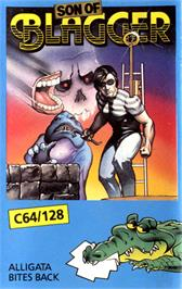 Box cover for Son of Blagger on the Commodore 64.