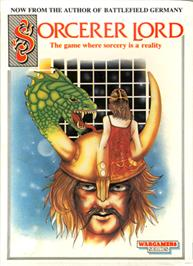 Box cover for Sorcerer Lord on the Commodore 64.