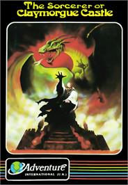Box cover for Sorcerer of Claymorgue Castle on the Commodore 64.