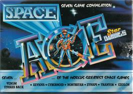 Box cover for Space Ace on the Commodore 64.
