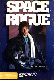 Box cover for Space Rogue on the Commodore 64.