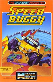 Box cover for Speed Buggy on the Commodore 64.