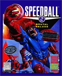 Box cover for Speedball 2: Brutal Deluxe on the Commodore 64.