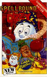 Box cover for Spellbound Dizzy on the Commodore 64.