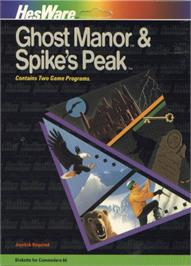 Box cover for Spike's Peak on the Commodore 64.