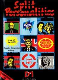 Box cover for Split Personalities on the Commodore 64.