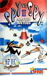 Box cover for Spy vs Spy III: Arctic Antics on the Commodore 64.