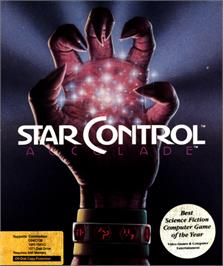 Box cover for Star Control on the Commodore 64.