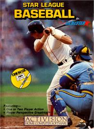 Box cover for Star League Baseball on the Commodore 64.