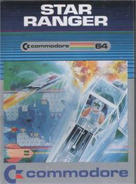 Box cover for Star Ranger on the Commodore 64.
