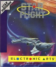 Box cover for Starflight on the Commodore 64.