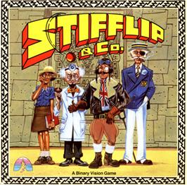 Box cover for Stifflip & Co. on the Commodore 64.