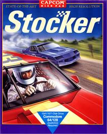 Box cover for Stocker on the Commodore 64.