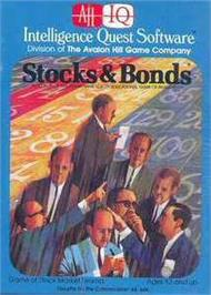 Box cover for Stocks And Bonds on the Commodore 64.
