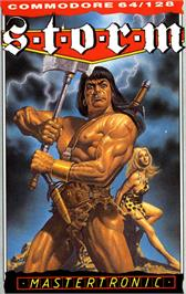 Box cover for Storm on the Commodore 64.