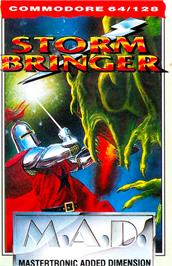 Box cover for Stormbringer on the Commodore 64.