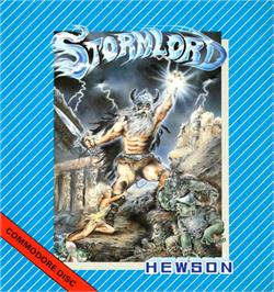 Box cover for Stormlord on the Commodore 64.