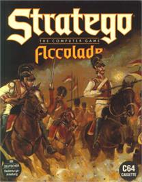 Box cover for Stratego on the Commodore 64.