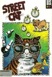 Box cover for Street Cat on the Commodore 64.