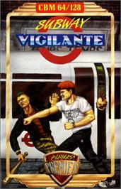 Box cover for Subway Vigilante on the Commodore 64.