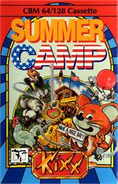 Box cover for Summer Camp on the Commodore 64.
