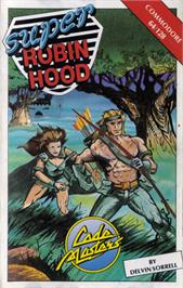 Box cover for Super Robin Hood on the Commodore 64.