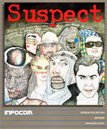 Box cover for Suspect on the Commodore 64.