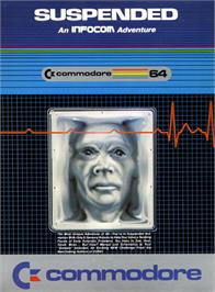 Box cover for Suspended on the Commodore 64.