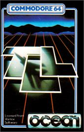 Box cover for TLL: Tornado Low Level on the Commodore 64.